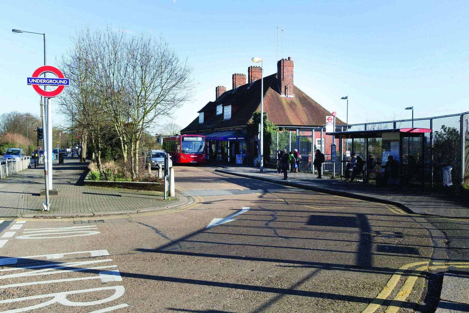 Stanmore Station forecourt