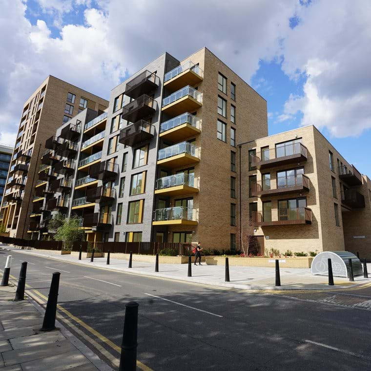 Makers Dock Shared Ownership Show Home  - Main External