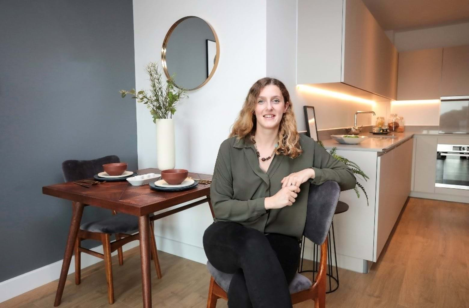 Stephanie, first-time buyer at The Gallery, Camberwell
