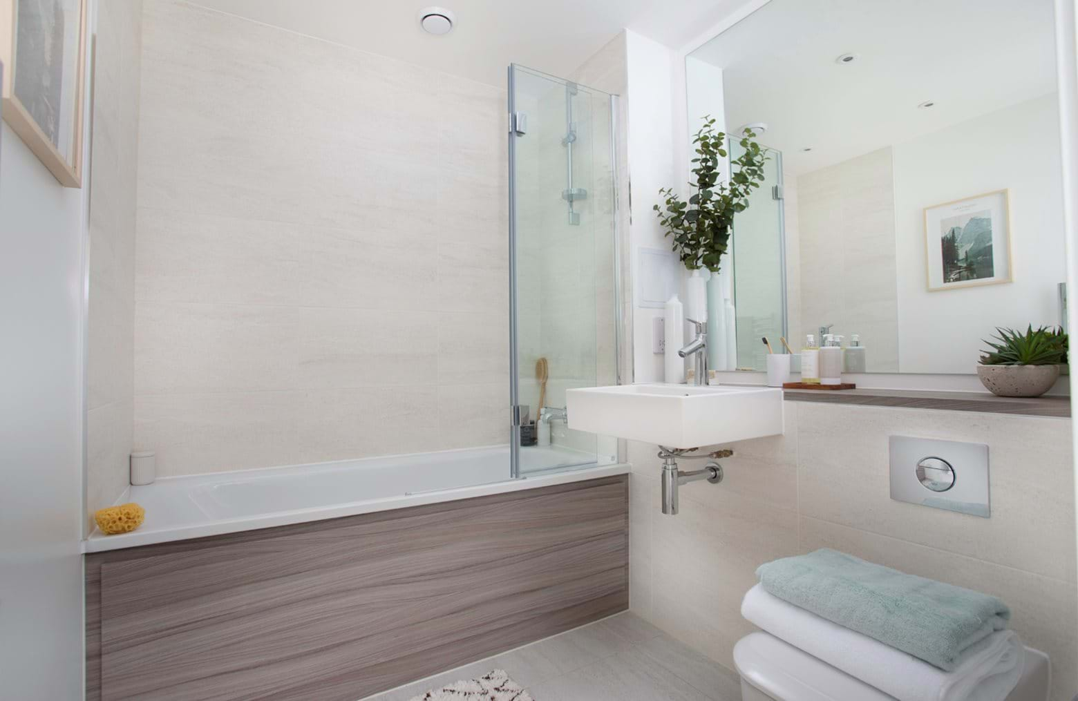 Colindale Gardens - Shared Ownership bathroom