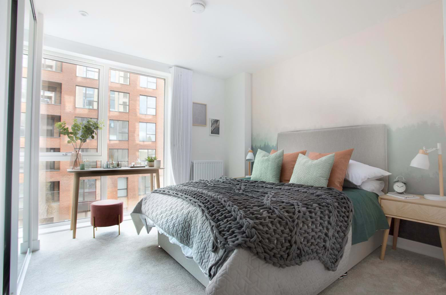 Colindale Gardens | Show apartment Bedroom