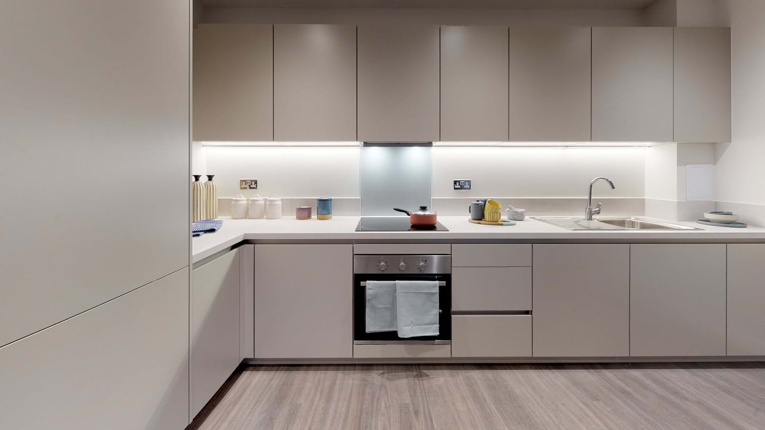 Patchworks - Shared Ownership Kitchen