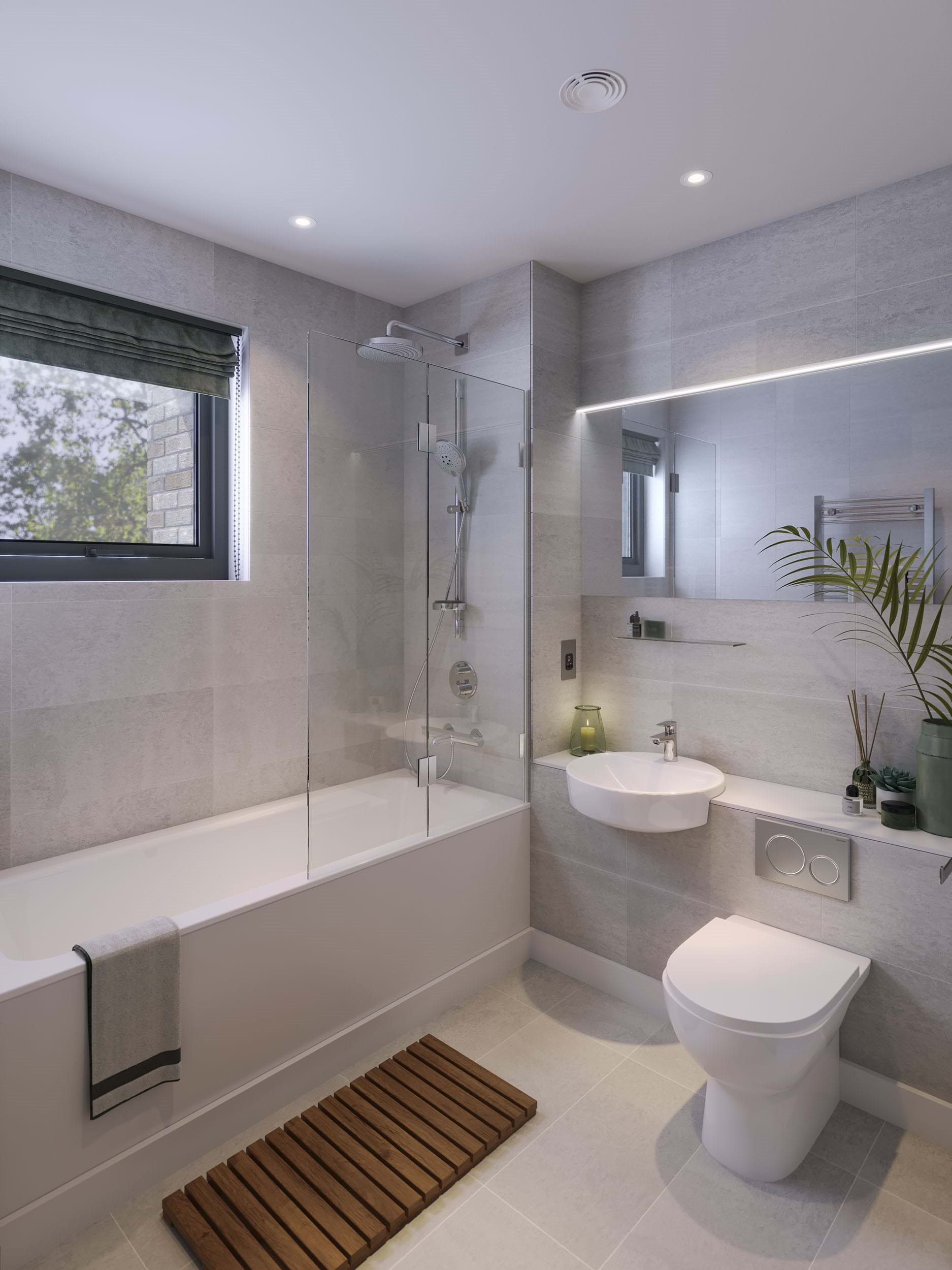 The Pomeroy | Private Sale - Bathroom (CGI)