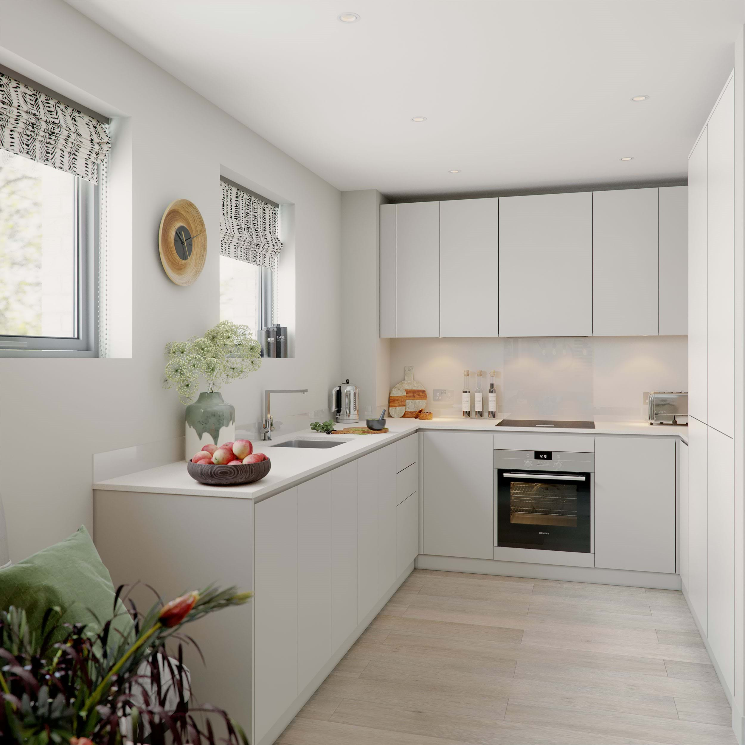 The Pomeroy | Private Sale - Kitchen (CGI)
