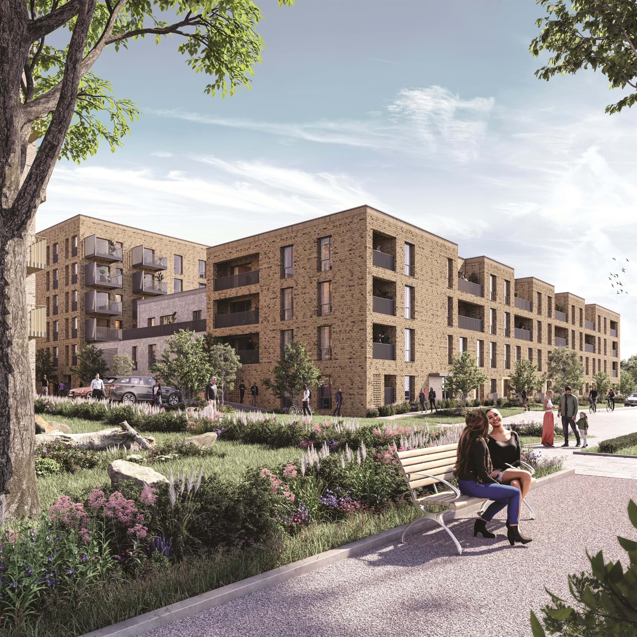 Greenway atBeckton Parkside | Computer Generated Image - Exterior