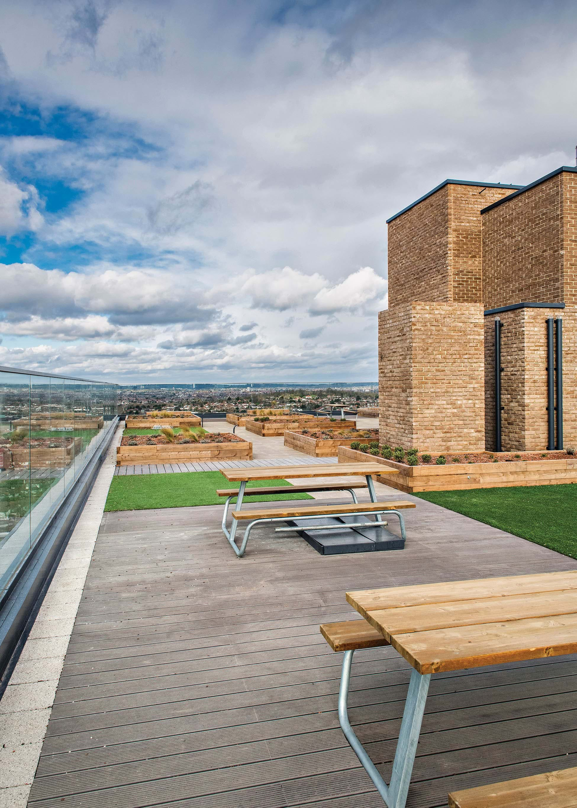 Williamson Heights | Communal Roof Terrace