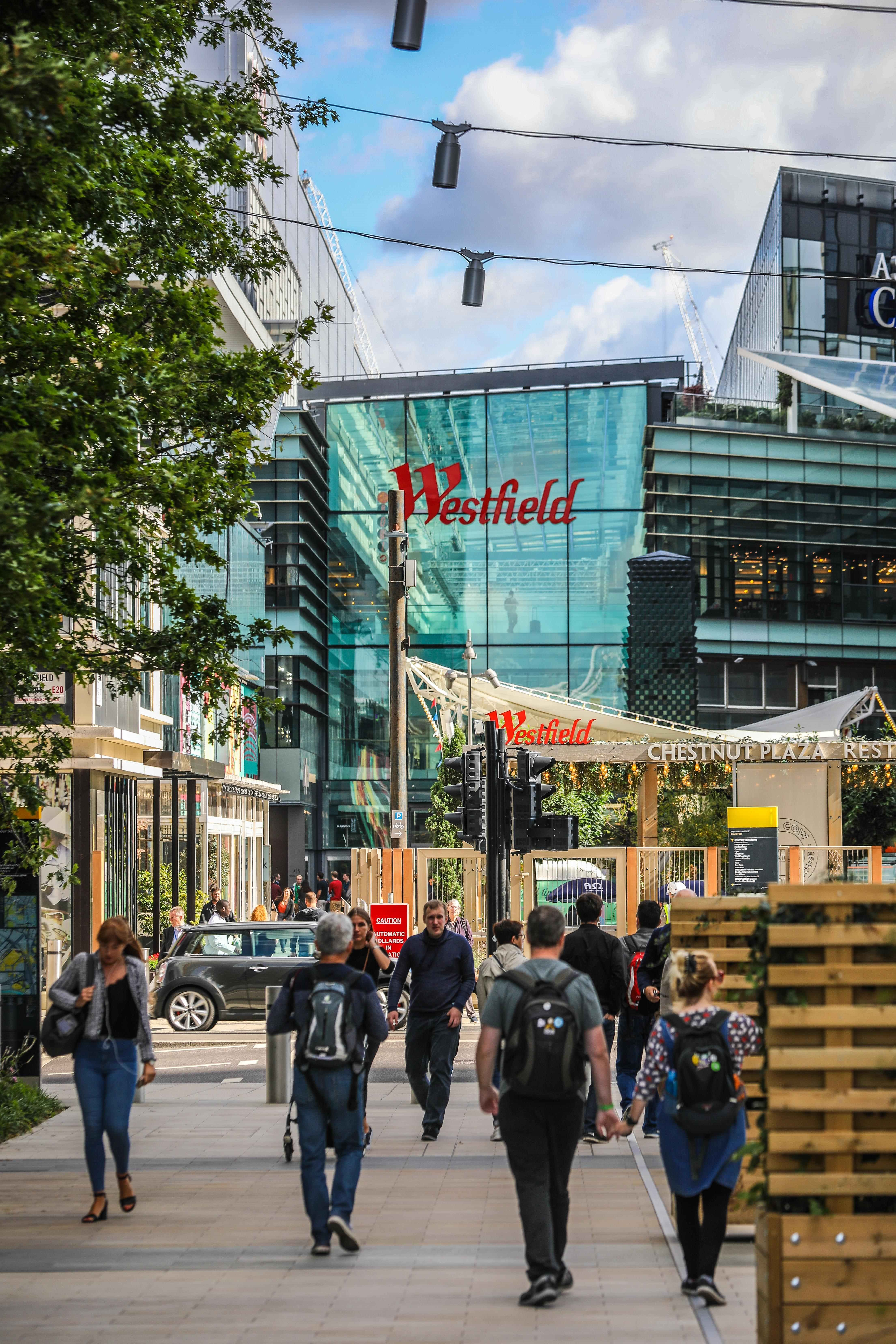 Westfield Shopping Centre, Stratford | Greenway - Local area photography