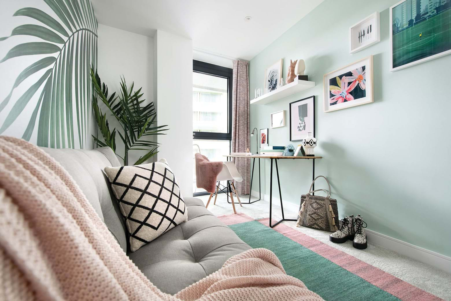 Williamson Heights | Study / Guest Room