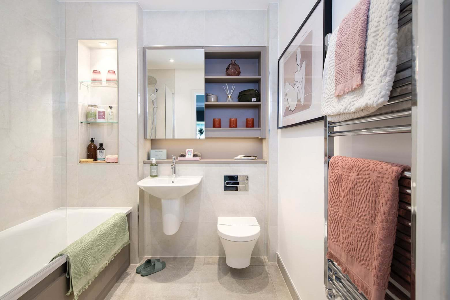 Williamson Heights | 2 bed show home - Bathroom