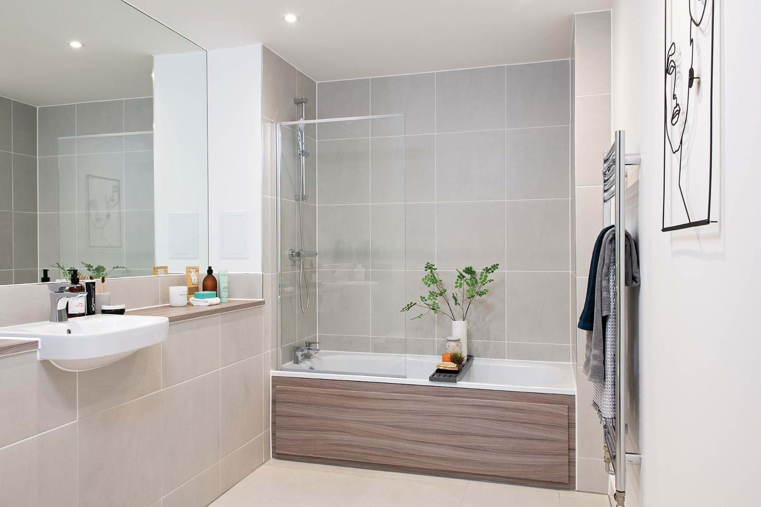 Greenway atBeckton Parkside | 2 Bed-Show Home - Bathroom