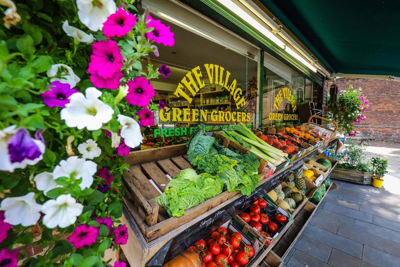 Local greengrocer in Charlton