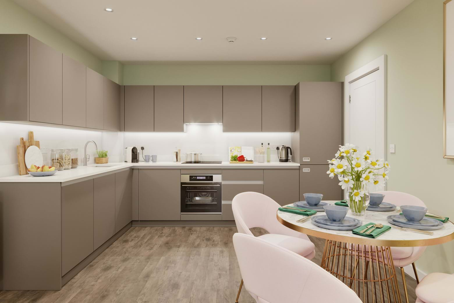 Valley House - 2 bed | Kitchen/ Diner