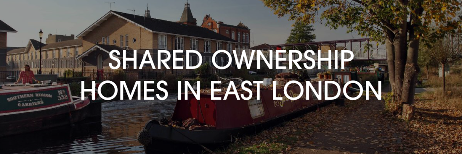 Shared ownership homes in East London