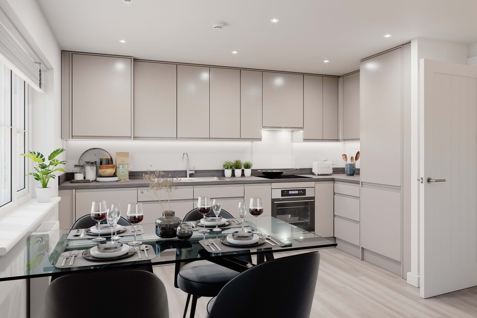 Limebrook Walk boasts impressive specification throughout including built-in appliances
