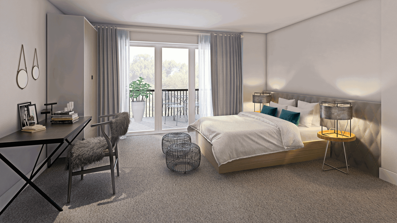 Mettle&Poise Shared Ownership show home - bedroom
