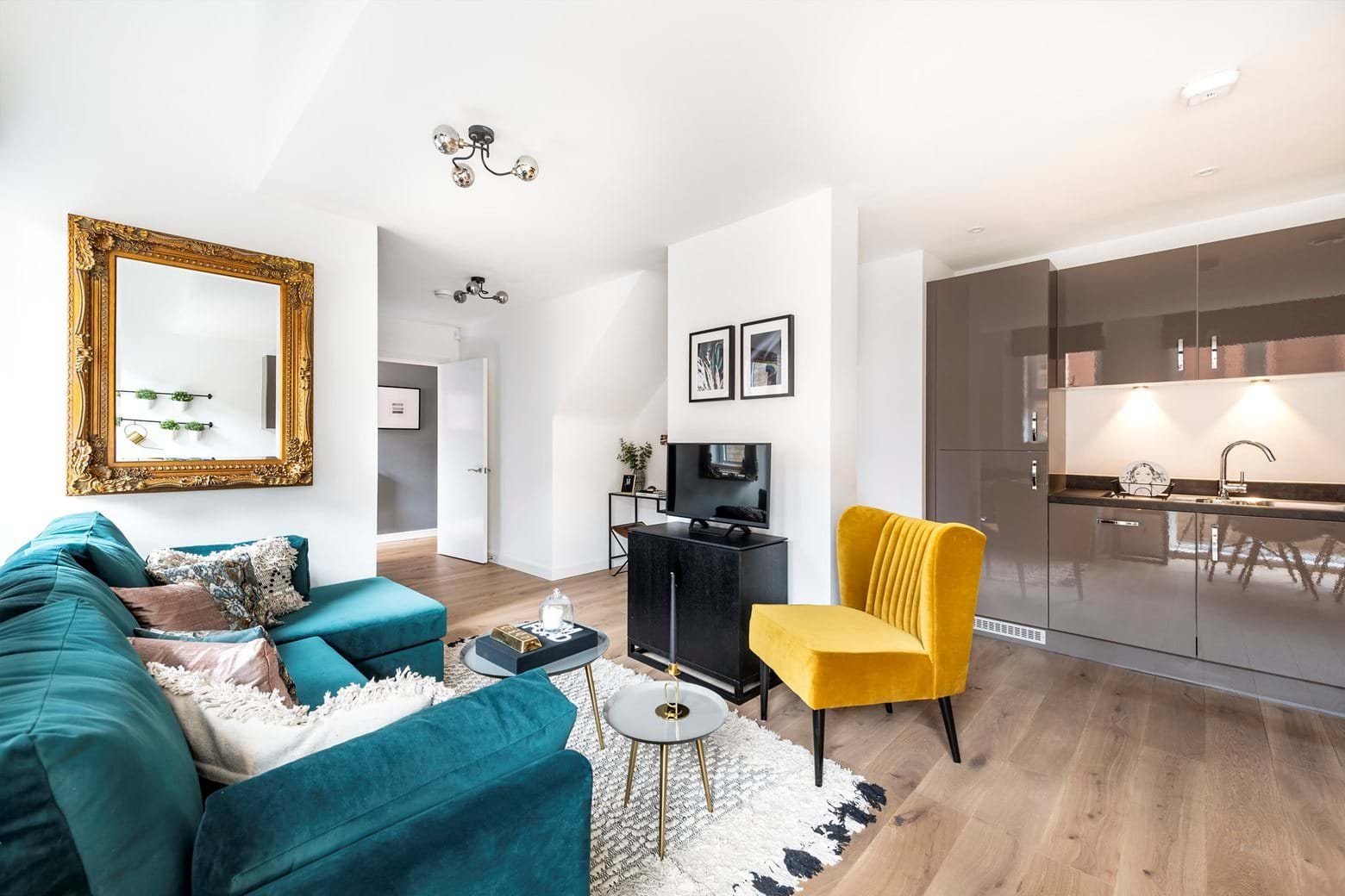 The Levers Show Home