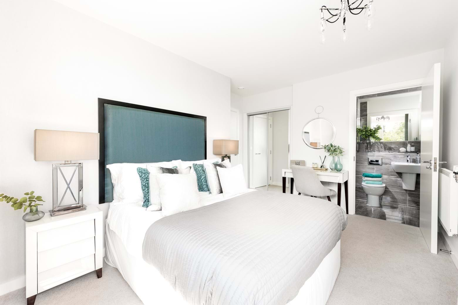 Ternary Place show home - Bedroom