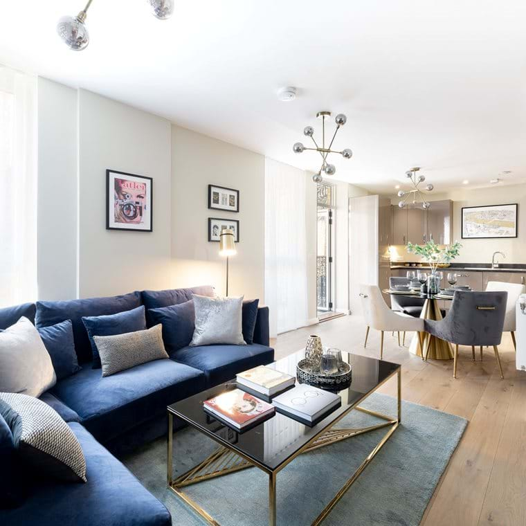 The Levers Private Sales Show Home Living Area.jpg